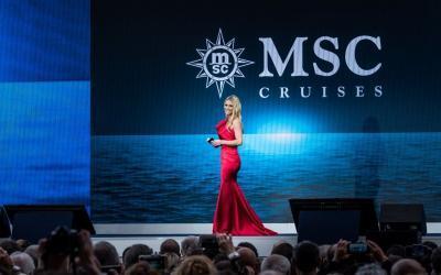 Der Countdown läuft: Michelle Hunziker wird die Taufe der MSC Grandiosa am 9. November in Hamburg moderieren