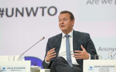 AIDA President Felix Eichhorn präsentiert Green Cruising Strategy auf UNWTO Gipfel in Sankt Petersburg