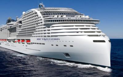 Saubere Schiffstreibstoffe: Total stellt die Flüssigerdgas-Versorgung für die neuen LNG-Kreuzfahrtschiffe von MSC Cruises sicher