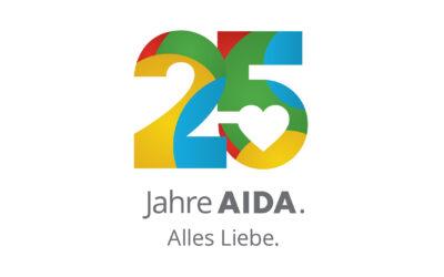 25 Jahre AIDA: Große Jubiläumsshow am 10. Juni 2021