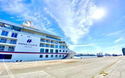 "Kreuzfahrt-Start in Hamburg: Saisonauftakt ""HANSEATIC nature"" von Hapag-Lloyd Cruises"