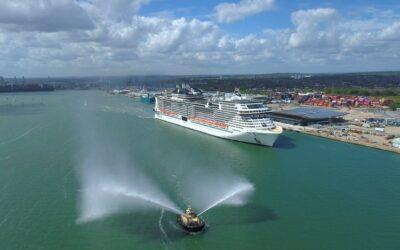 Die MSC Virtuosa erreicht Southampton und startet in Kürze erste Großbritannien-Kreuzfahrten