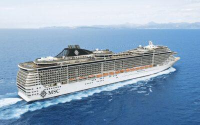 Die MSC Splendida nimmt als nächstes Schiff ihren Betrieb wieder auf und begrüßt auf ihrer Reise durchs östliche Mittelmeer ihre ersten Gäste