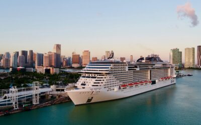 Die MSC Meraviglia sticht wieder in See und feiert den Restart von MSC Cruises nun auch in den USA
