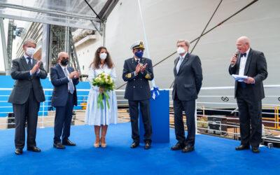 Übergabe der MSC Seashore: MSC Cruises nimmt auf der Werft von Fincantieri das 19. Schiff seiner Flotte entgegen