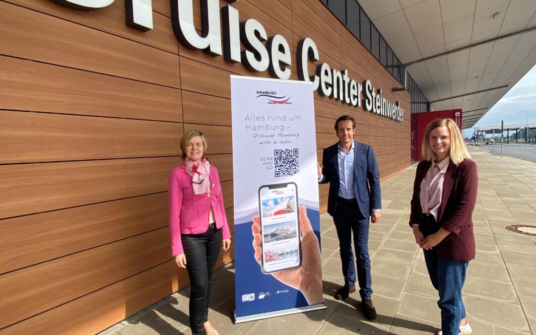 """Hamburg Cruise Concierge"": Hamburger Passagiere erhalten digitalen Kreuzfahrt-Guide"""