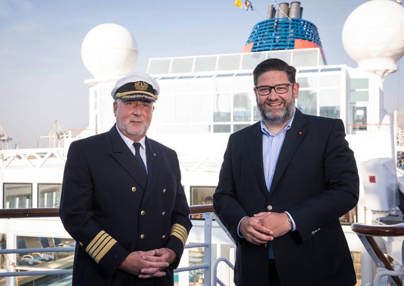 Hapag-Lloyd Cruises ernennt Andreas Greulich zum Kapitän der EUROPA