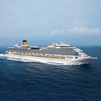 Costa Crociere erhält die Biosafety Trust Zertifizierung und führt Covid-19-Tests für alle Gäste an Bord seiner Schiffe ein