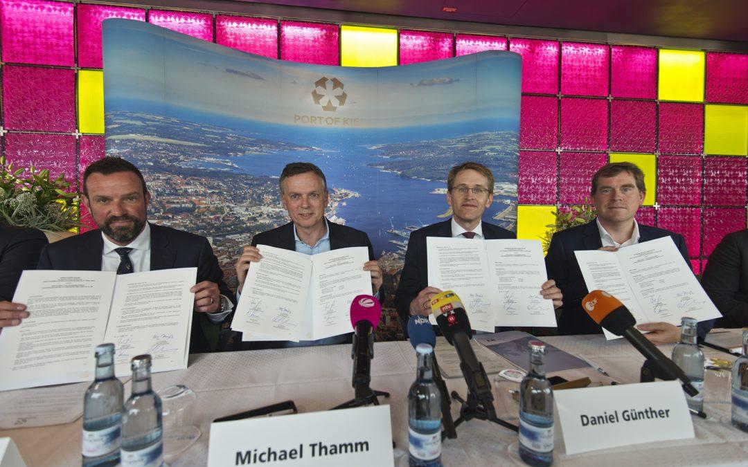 Wegweisende Partnerschaft für einen nachhaltigen Kreuzfahrttourismus in Schleswig-Holstein