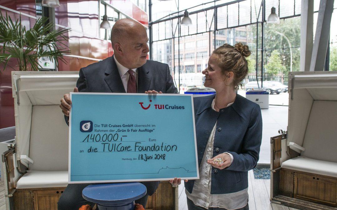 TUI Cruises sammelt mit Grün & Fair-Ausflügen 236.295 Euro Spenden – Mehr als 47.000 Gäste buchten im vergangenen Jahr nachhaltigen Ausflug