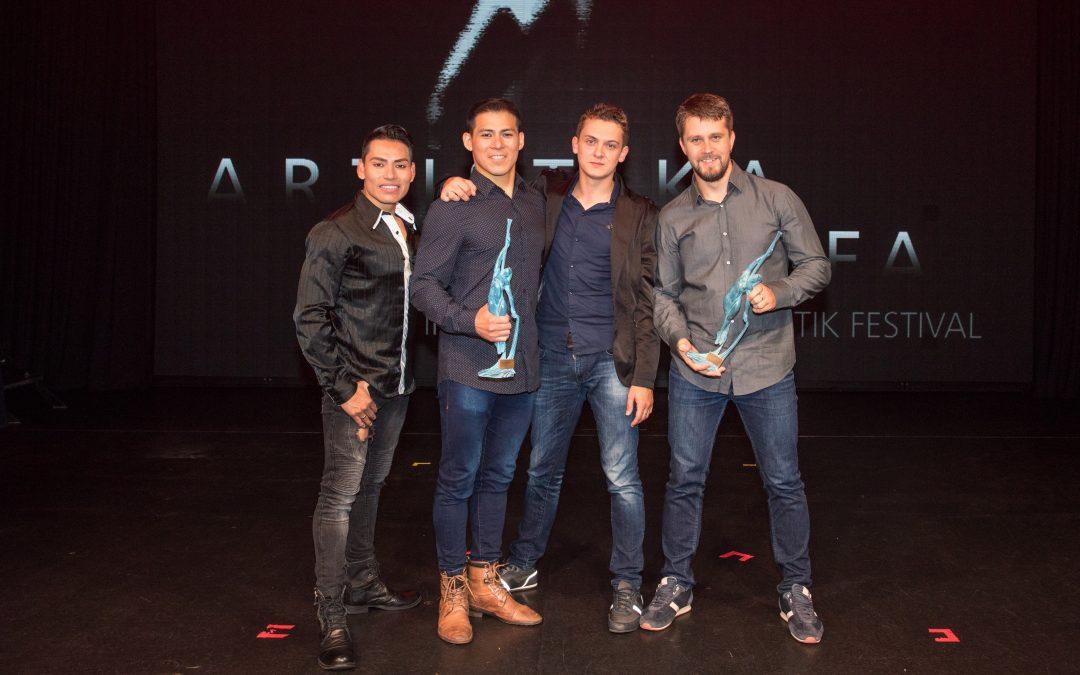 """""""Artistika of the sea"""" auf der EUROPA 2: Duo Vitalys und Aleshin Duo gewinnen den diesjährigen Zuschauerpreis"""
