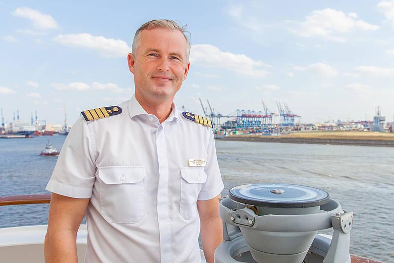 Neuer Kapitän für die BREMEN