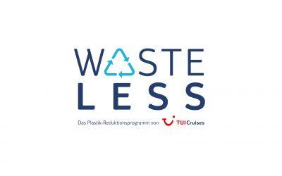 Auf dem Weg zum plastikfreien Urlaub auf der Mein Schiff Flotte – TUI Cruises startet WASTELESS – das Plastik-Reduktionsprogramm