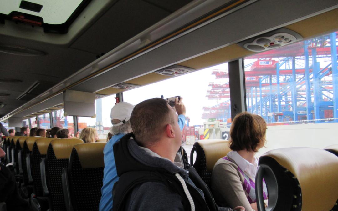 Eine ganz besondere Mitgliedertour zu den Giganten des Hamburger Hafens