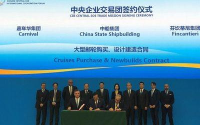 Carnival Corporation startet Kreuzfahrt Joint Venture in China