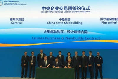 Carnival Corporation startet Kreuzfahrt Joint Venture in China