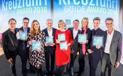 Die besten Schiffe des Jahres: Kreuzfahrt Guide Awards 2018 verliehen – KREUZFAHRT GUIDE 2019 in neuem Layout ab sofort im Handel