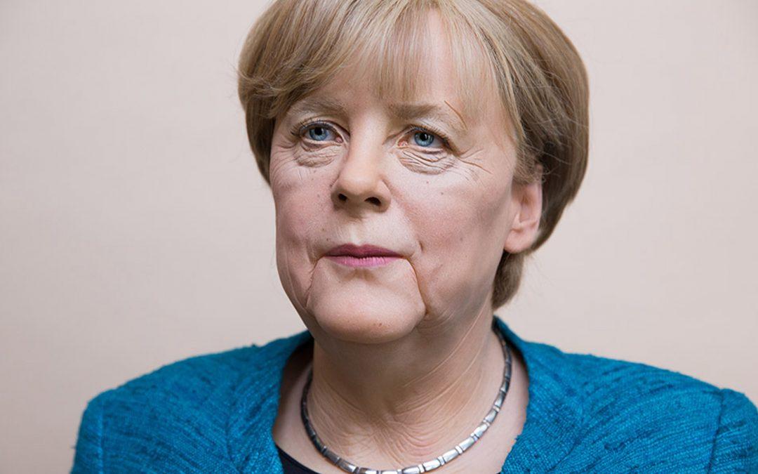 Eine weitere Amtszeit für Angela Merkel: Als Wachsfigur im Panoptikum