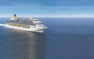 Erstes Costa Schiff speziell für China: Taufe der Costa Venezia am 1. März in Triest