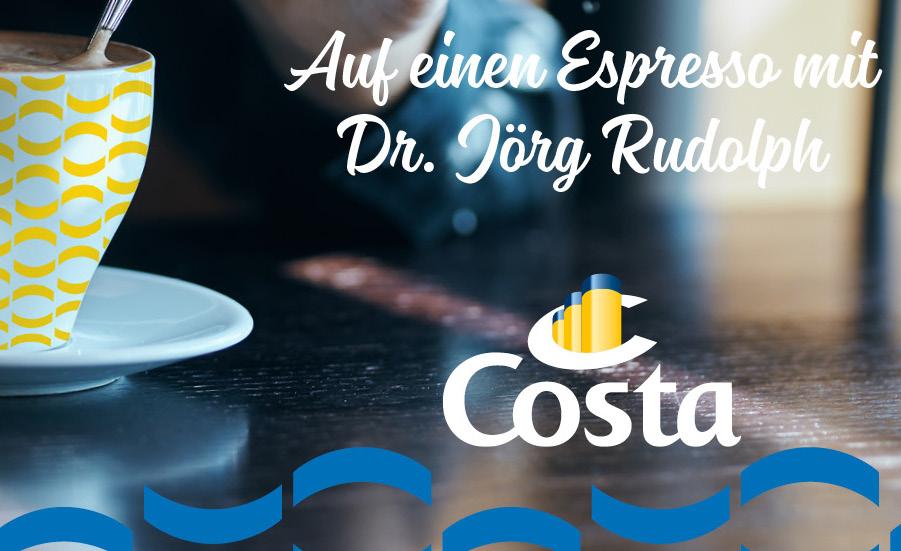 Neuer moderner Markenauftritt für Costa Kreuzfahrten