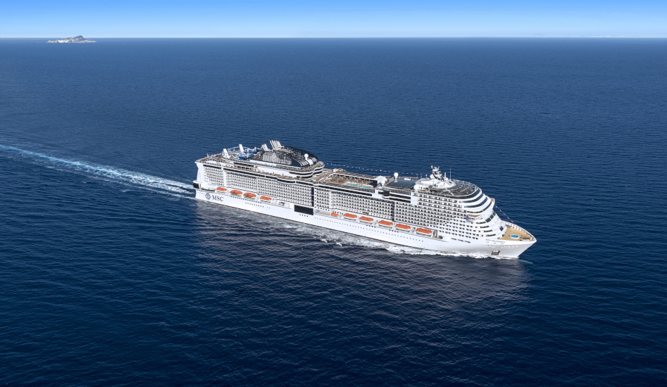 MSC Cruises feiert das Aufschwimmen der  MSC Grandiosa