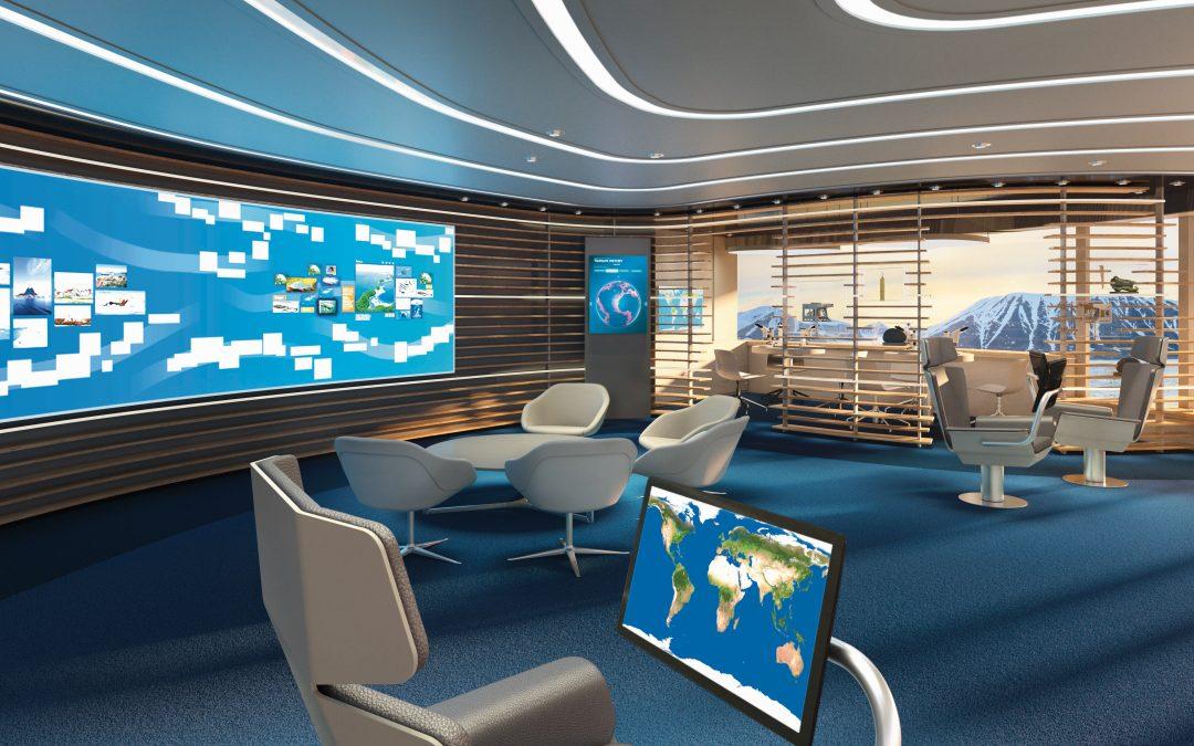 Exklusiv an Bord der neuen Expeditionsklasse: Hapag-Lloyd Cruises führt innovatives Tool zur digitalen Wissensvermittlung ein