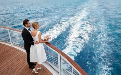 Kapitän statt Standesbeamter: Heiraten an Bord der EUROPA 2