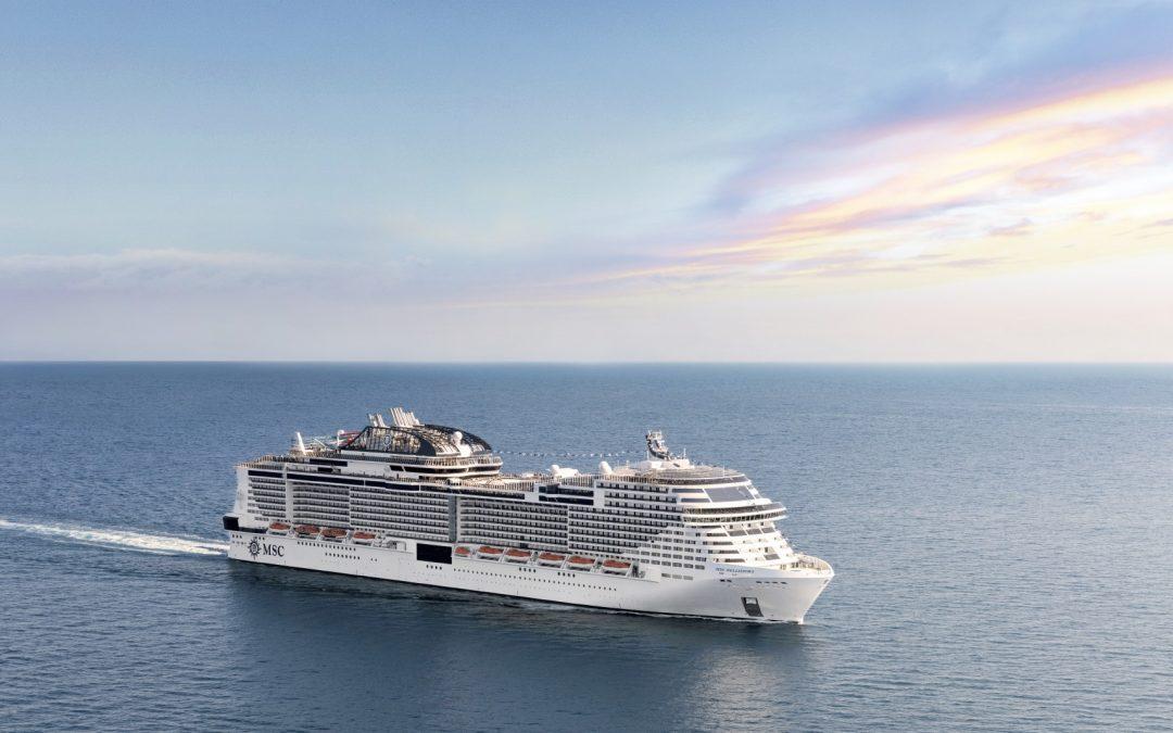 Die MSC Bellissima, das Schönste aller Schiffe, wird in Southampton getauft