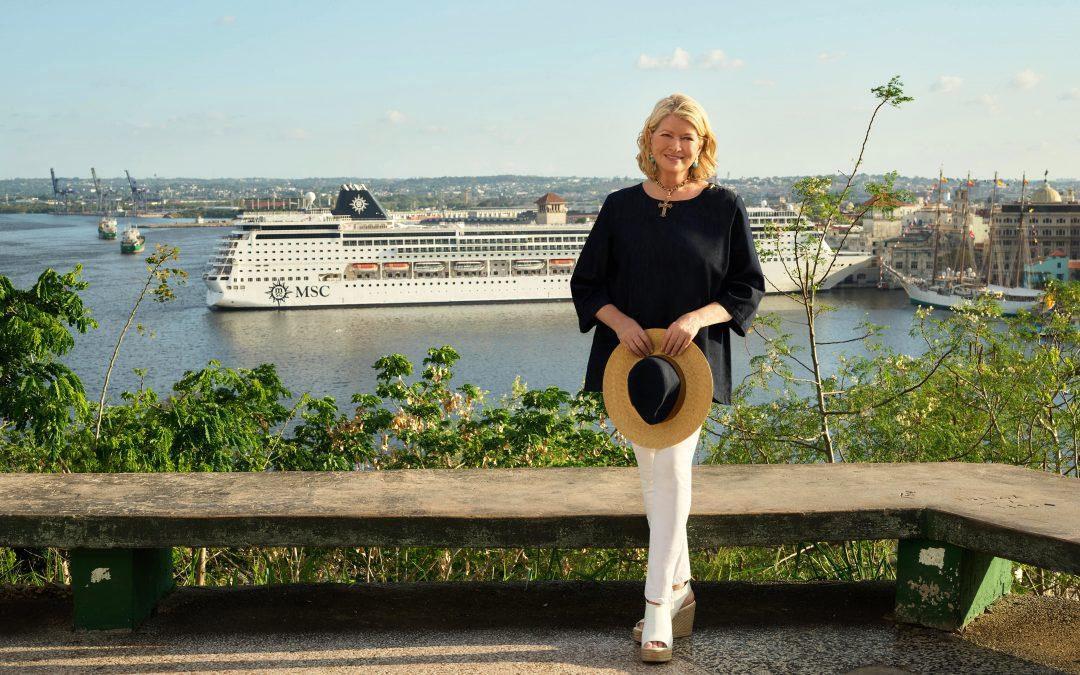 MSC Cruises und Martha Stewart gehen Partnerschaft ein und entwickeln zusammen kulinarische Erlebnisse und Landausflüge für Entdecker