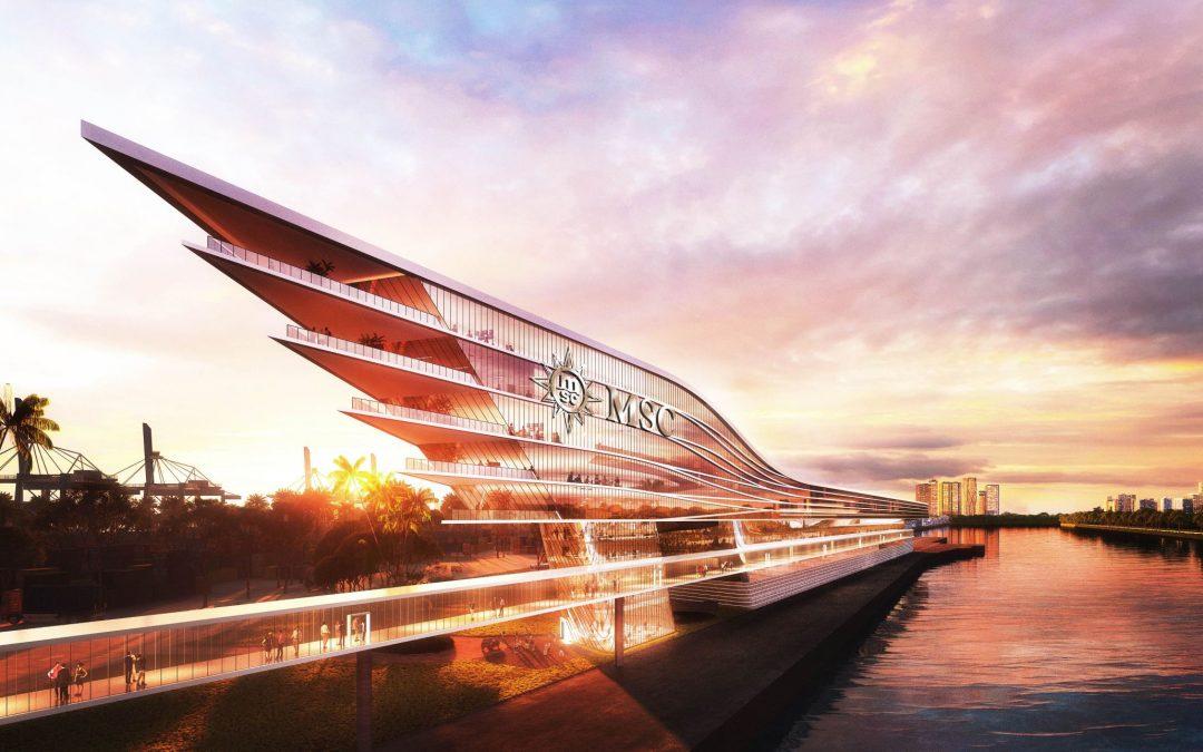 MSC Cruises verkündet Pläne für den Bau eines hochinnovativen Kreuzfahrtterminals in PortMiami