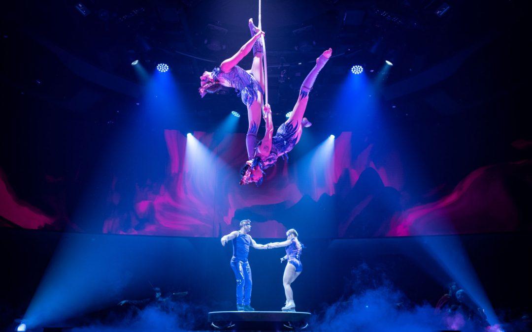 Hinter den Kulissen der beiden Cirque du Soleil at Sea Shows an Bord der MSC Bellissima