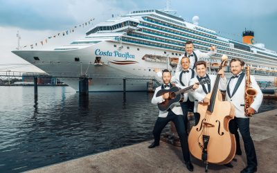 Musikfestival im 50's Style an Bord der Costa Pacifica: Erste Rock'n'Roll Cruise im Mittelmeer mit Peter Kraus