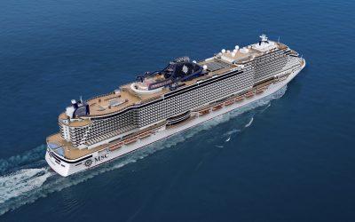 Buchungsstart für die MSC Seashore, das erste Schiff der Seaside EVO Klasse