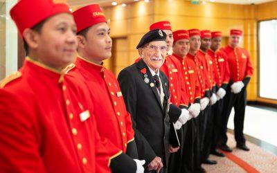 Cunard und Southampton: Vorbereitungen der Hundertjahrfeier starten mit gleichaltrigem Ehrengast