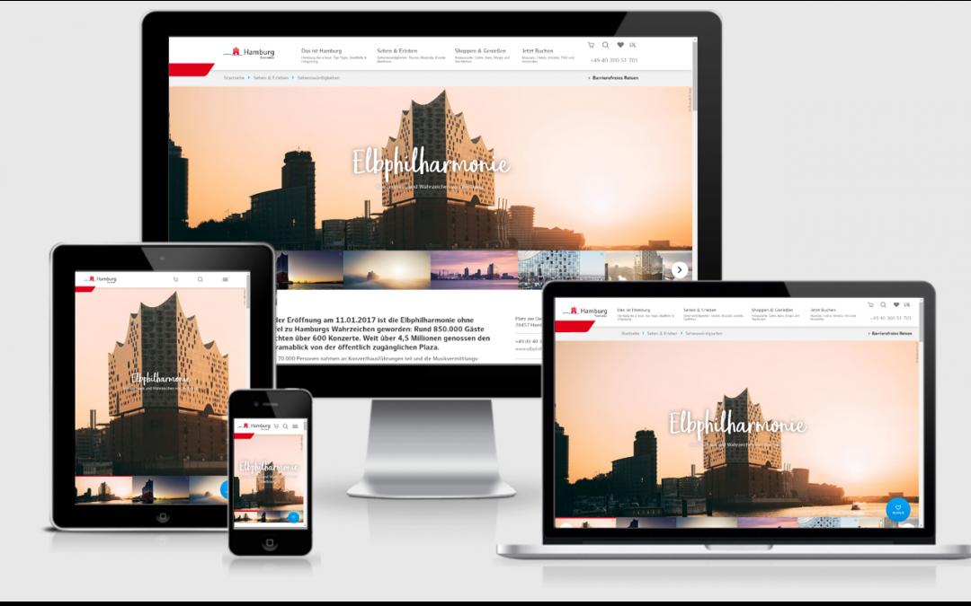 Inspiration für ein einzigartiges Hamburg-Erlebnis:  HHT startet neuen Online-Auftritt