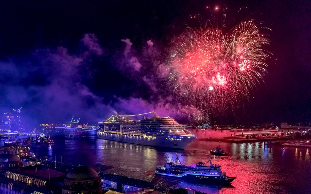 Msc Feiert Die Hamburg Cruise Days 2019 Und Stimmt Sich In