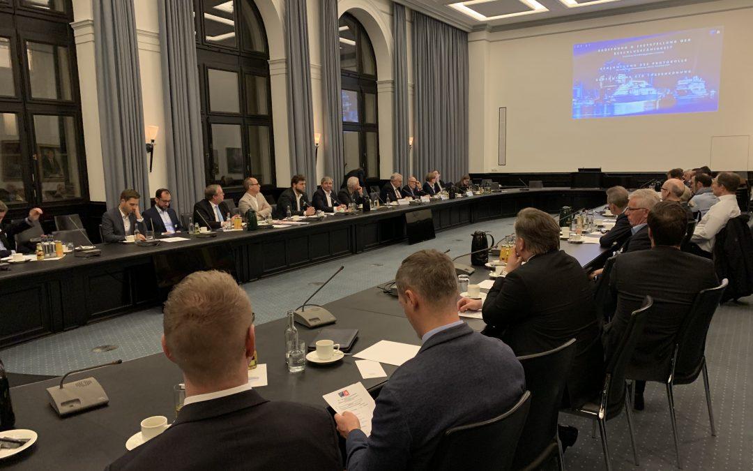 HCN-Mitgliederversammlung in der Handelskammer Hamburg