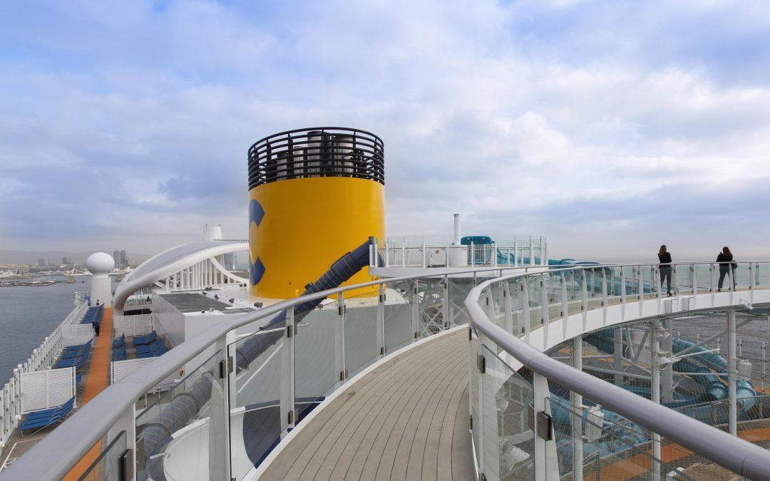 Das neue Costa Flaggschiff mit LNG-Technik