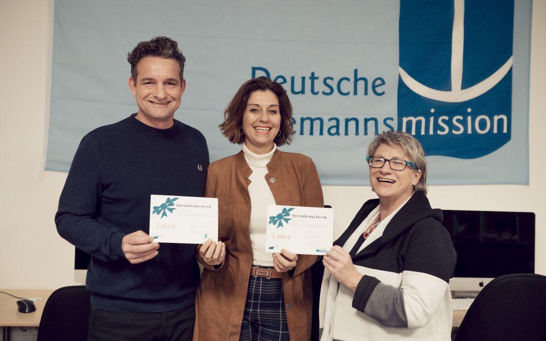 Vorweihnachtliches Geschenk: Cruise Gate Hamburg spendet an SEAFARERS ́ LOUNGE und Deutsche Seemannsmission Hamburg-Harburg e.V.